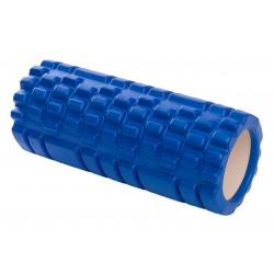 Wałek roller do ćwiczeń niebieski 33x14cm Eb Fit