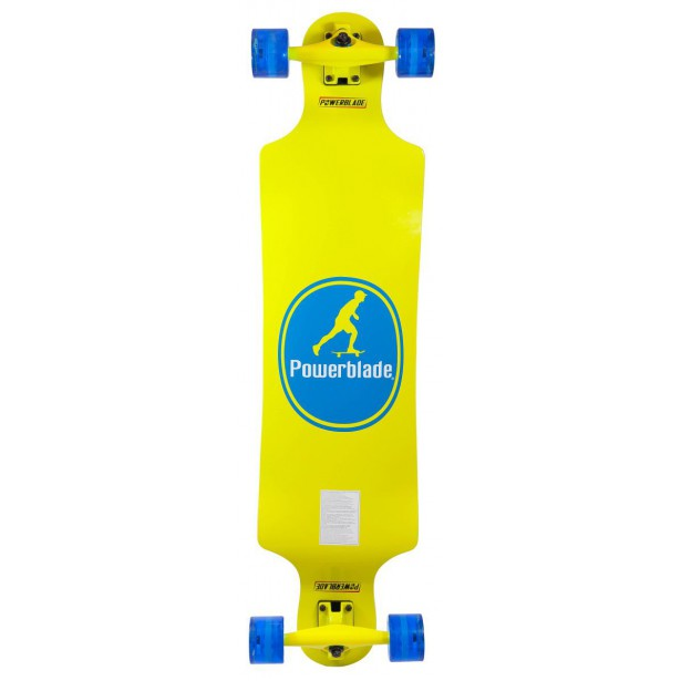 DESKOROLKA PB LONGBOARD YELLOW BAD MONKEY