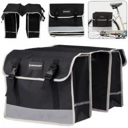 Sakwa torba rowerowa podwójna na bagażnik Dunlop 26L