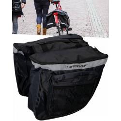 Torba rowerowa podwójna na bagażnik sakwa Dunlop 26l