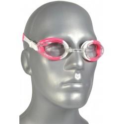 Okularki pływackie + zatyczki Enero różowe