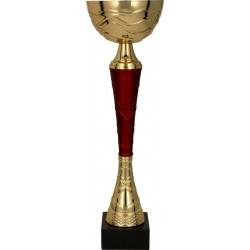 Puchar metalowy złoto-burgundowy TUMA RD 9217D