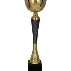 Puchar metalowy złoto-grafitowy TUMA BK 9216E