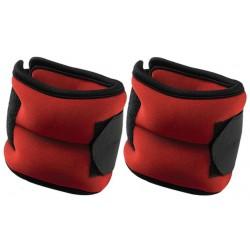Obciążenie na przeguby czerwone 3,5kg (2X1,75kg) Eb Fit