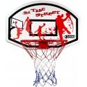 Tablica do koszykówki 90x60cm Best Sporting + obręcz 45cm