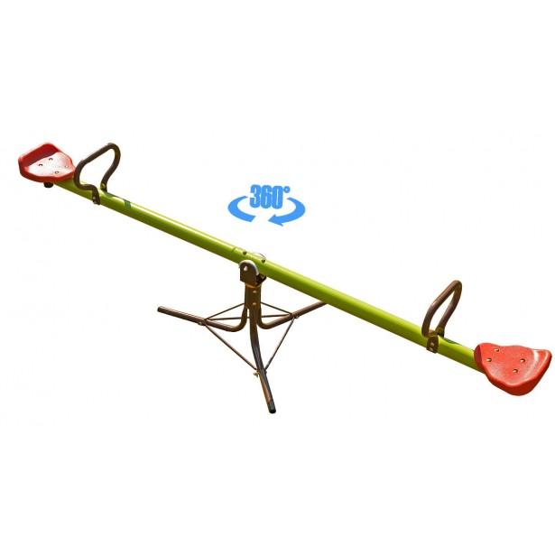 Huśtawka wahadłowa dla dzieci 360 stopni obrotowa