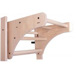 Drewniany drążek do podciągania naturalne drewno BenchK PB 110.1