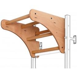 Drewniany drążek do podciągania w kolorze dębu BenchK PB 210.1B