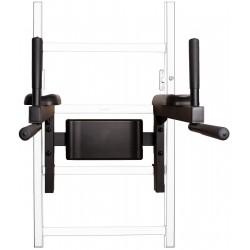 Poręcz do ćwiczeń czarny mat BenchK Dip Bar 310B 710B