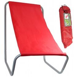 Leżak ogrodowo plażowy składany z torbą Royokamp