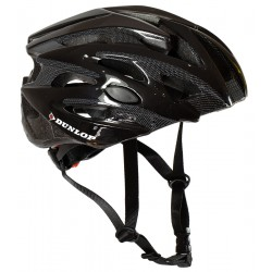 Kask rowerowy regulowany Dunlop czarny r.M