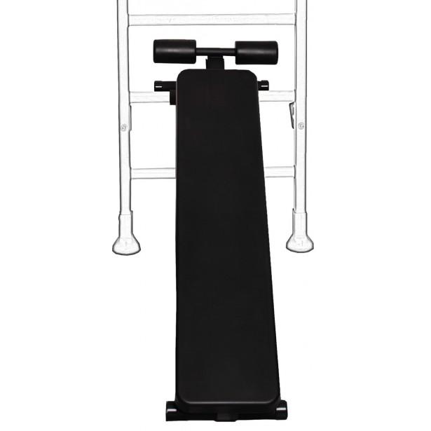 Ławka do ćwiczeń czarny mat B510