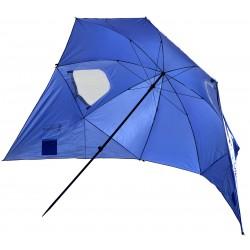 Parasol namiot parawan plażowy 240cm XXL niebieski Royokamp