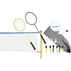 Zestaw do siatkówki i badmintona 2w1 SCATCH 310x168cm