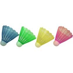 Lotki do badmintona nylon kolor Kpl 4szt