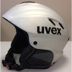 Kask Narciarski Uvex X-Ride Motion R.L Srebrny