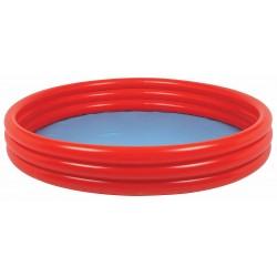 Basen dziecięcy 3-pierścieniowy jednokolorowy 10304-1