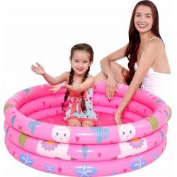 Basen dziecięcy 3-pierścieniowy Alpaka 100x30cm 57167