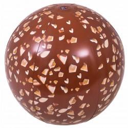 Piłka plażowa dmuchana czekolada 50cm 57154