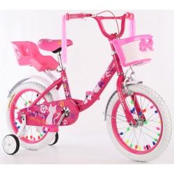 Rower dziecięcy 16 cali z wyposażeniem Enero Love Kitty