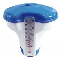 Termometr z dyspenserem chemii basenowej 12,7cm 290618
