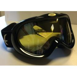 Gogle Narciarskie Zoe Senior Black Double Lens Italy
