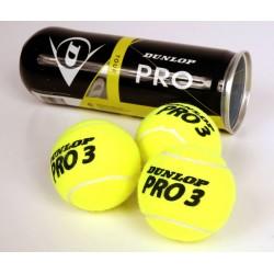 Piłki Tenisowe DUNLOP Pro TOUR Kpl. 3szt.