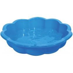 Piaskownica basen muszelka 85l 94x91,5x21cm niebieska
