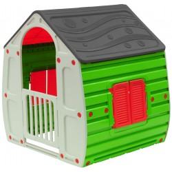 Ogrodowy domek dla dzieci Enero Toys Mag szary