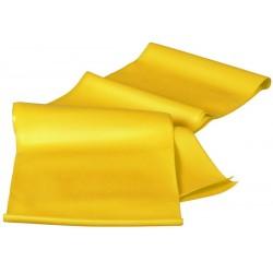 Taśma Fitness 0.25 MM Żółta BEST SPORTING - Soft
