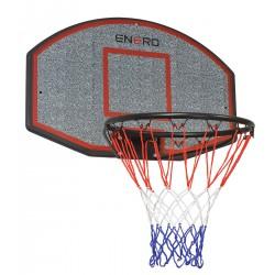 Tablica do koszykówki 71x45cm Enero + obręcz 40cm