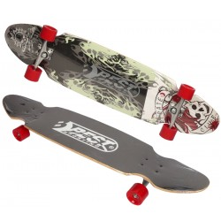 Deskorolka longboard D BEST SPORTING PIRATE CLUB 109x26cm