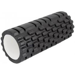 Wałek Roller Do Ćwiczeń Twardy 35Cm Czarny