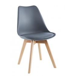 Krzesło Trapani szare kpl 2szt Saska Garden