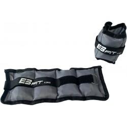 Obciążenie na przeguby szare 1kg (2X0,5kg) Eb Fit