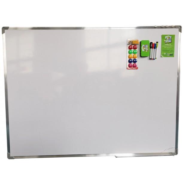 Tablica magnetyczna suchościeralna 150x120cm biała z akcesoriami