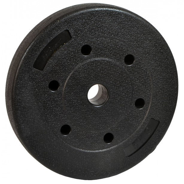 Obciążenie betonowe kompozytowe 5kg Eb Fit Fi29,5