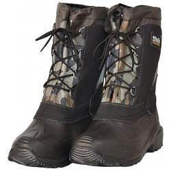 Buty śniegowce męskie moro wiązane