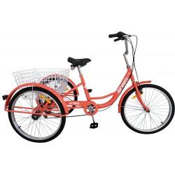 Rower 3-kołowy trójkołowy rehabilitacyjny koła 24