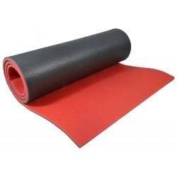 Mata do Jogi Dwuwarstwowa 180x61x0,8 cm Czerwona Eb Fit