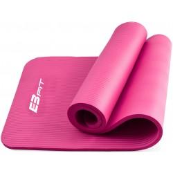 Mata fitness NBR 180x60x1,5cm różowa i torba Eb fit