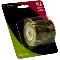 Rea Tape Bandaż Elestyczny 5x4,5 Moro Zielony