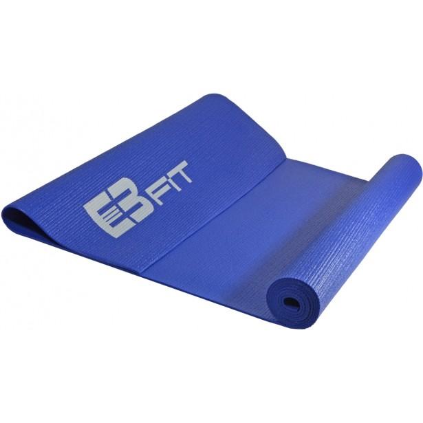 Mata do ćwiczeń fitness jogi 170x60x0,3cm niebieska Eb fit
