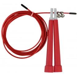 Skakanka Szybkościowa Z Linką Stalową 300 Cm Eb Fit Czerwona