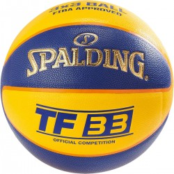 Piłka do koszykówki Spalding TF 33 IN/OUT OFFICIAL GAME BALL R.6