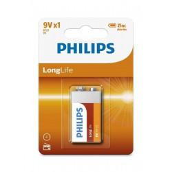 Bateria PHILIPS 9V Longlife