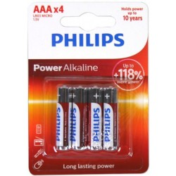 Bateria PHILIPS LR3 AAA Powerlife 4szt