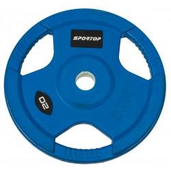 Obciążenie olimpijskie 20 kg SPORTOP fi50