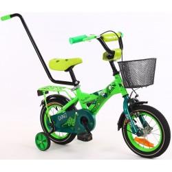 Rower dziecięcy 12 cali z wyposażeniem Enero Dino
