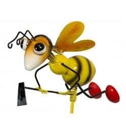 Pszczoła dekoracyjna na piku z akcesoriami 18x19x91cm